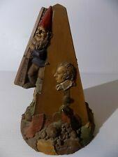Large Cairn Art Studio Tom Thomas Clark 1991 Gnome Metro-Gnome Signed