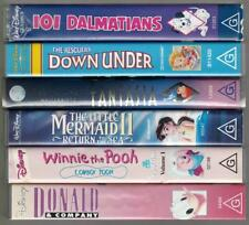 Walt Disney VHS Collection -  The Little Mermaid, Fantasia & more