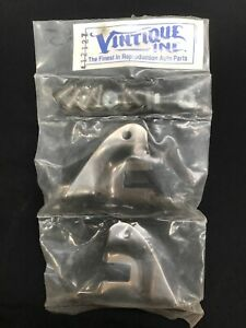 Vintique 1933 1938 US Ford Stainless Support Rod Brackets Hot Rod Custom