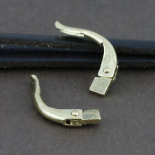 Genuine 18CT Solid YG Continental Clip Back -1 Pair
