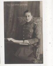 Prinz August Wilhelm Von Preussen RP Postcard Germany Royalty 043b