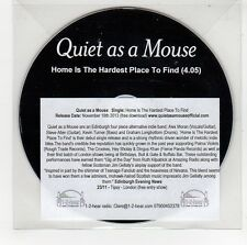 (GG577) Quiet As A Mouse, Home Is The Hardest Place To Find - 2013 DJ CD