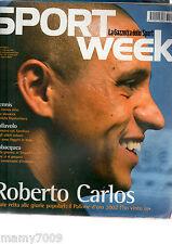 SPORTWEEK=N°143 2002=ROBERTO CARLOS=DANIELA HANTUCHOVA=J.R. CRUZ=DENISE KARBON