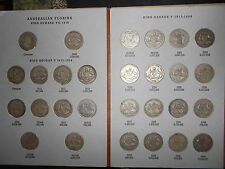 Complete set of Australian florins 2/-(Including the 1932 ) NO 1934/35 Centenary