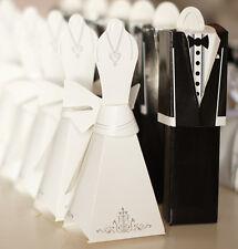10 boites contenant dragées mariage mariée costume neuf originale envoi rapide
