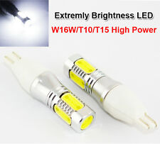 W16W/T10/T15  High Power Car Signal Tail Turn LED Ligh 7.5W X 2 LED BULBS