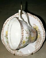 Rosina Bone China Cup And Saucer Vintage Made In England