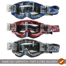 Wulfsport Adults Abstract Roll Off MX Motocross Quad Enduro Bike Goggles
