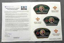 FAR EAST COUNCIL ACHPATEUNY OA 498 803 FOUNDERS 3-PATCH FOS DONOR SET #20 OF 20