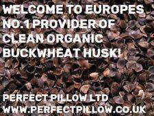 ORGANIC BUCKWHEAT HUSK/HULLS 10 KILO FILL PILLOWS,CUSHIONS,CAR SEATS, MATTRESSES