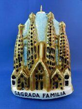 Travel Sagrada Familia Cathedral Barcelona Spain Glass Christmas Ornament 011235