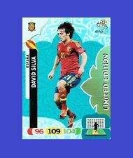 Adrenalyn XL UEFA EURO 2012 Panini DAVID SILVA Limited Edition