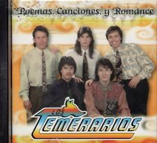 Los Temerarios Poemas Canciones y Romance CD New No Plastic Seal