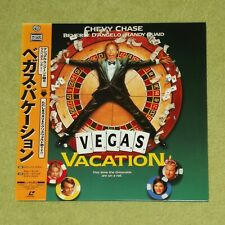NATIONAL LAMPOON'S VEGAS VACATION [1997/Chevy Chase] - JAPAN LASERDISC + OBI
