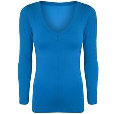 Camisetas de mujer de manga larga talla XL