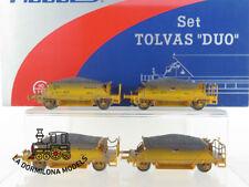 DO327 H0 =DC MABAR 81705 SET 2 PARES DE TOLVAS RENFE NESCO - OVP