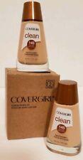 NEW 2PACK Covergirl Clean Normal Skin Liquid Foundation #145 Warm Beige