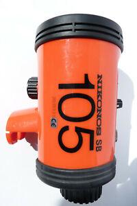 Nikon SB-105 Speedlight Underwater Flash/Strobe for Nikonos Cams PARTIAL TESTED