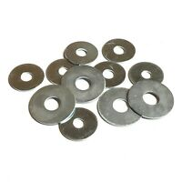5mm 6mm 8mm 10mm 12mm Penny Washers - Steel Zinc Plated - Mudguard Repair