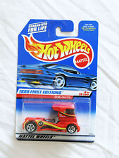 Mattel Hot Wheels 1999 First Editions #8 SEMI FAST /Collector #914 RED