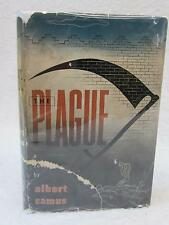 Albert Camus THE PLAGUE 1948 Alfred A. Knopf, NY Early Printing w/DJ