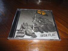 Wu-Tang Clan - IRON FLAG Rap CD - RZA GZA Method Man Raekwon Cappadonna