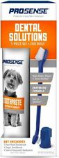Dental Solutions for Dog & Pet Toothpaste, Toothbrush & Finger brush 3-Piece Kit