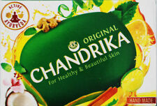 1 X 10 x CHANDRIKA SOAP 75 GRAMS FROM INDIA (100% GENUINE AND ORIGINAL)