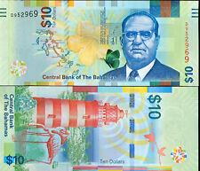 BAHAMAS - 10 $ issue 2016 - UNC