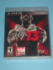 WWE '13 (Sony PlayStation 3, 2012) (no manual) CLEANED & TESTED -