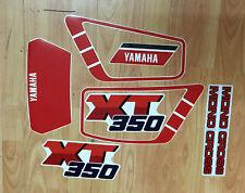 Yamaha XT 350 1990 91 - adesivi/adhesives/stickers/decal