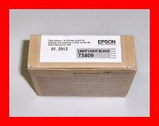 Genuine Epson T5809 Pro 3800 3880 Light Light Black Ink T580900 w/exp 11-2017