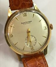 Vintage 18k Gold Girard Perreguax  Watch