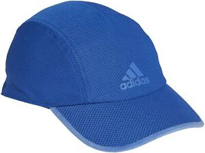 adidas AeroReady Mesh Mens Running Cap - Blue