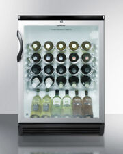 Summit Commercial Wine Cooler Cabinet (SWC6GBLBI)