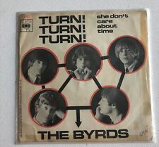 "THE BYRDS - TURN! TURN! TURN 7"" VINYL SINGLE RECORD"