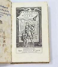 P. Virgilii Maronis Opera Cum Notis Thoma Farnabil 1650