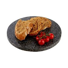 26cm Round Granite Chopping Board Worktop Surface Food Cutting Protector Slab