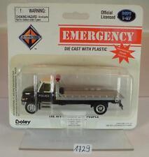 Boley 1/87 No.4131 Emergency International Police Polizei Abschleppw. OVP #1729