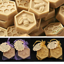 Goat's Milk Oats and Honey, guest/ travel soap (Beehive), 20pcs -Cold Processed