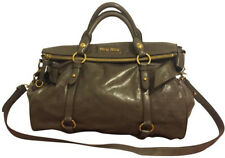 Authentic Miu Miu Vitello Lux Bow Satchel- Mint Condition - $499