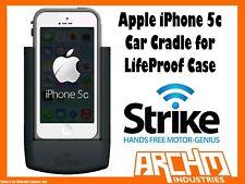 STRIKE ALPHA APPLE IPHONE 5C CAR CRADLE LIFEPROOF CASE - BUILT-IN FAST CHARGER