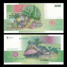 Comoros 2000 2,000 Francs, 2005, P-17, banknotes, UNC