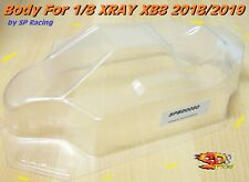 Carrozzeria Body 1/8 Buggy Off Road for XRAY XB8 by SP RACING cod. SPBD0080