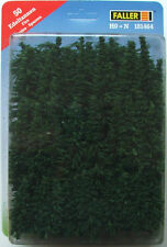 FALLER 181464 FirTrees x 50 for 00/HO/N Model Railway 5cm - 11cm (To stick in)