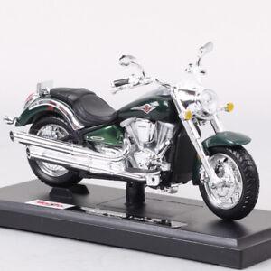 1/18 Maisto Kawasaki Vulcan 2000 Classic Cruiser Bike Diecast Motorcycle Model