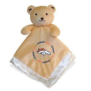 Denver Broncos Baby Security Bear Blanket, NFL Officially Licensed 14X14
