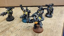 Pre-Painted - Warhammer 40k Chaos Marine Squad x5 (Plastic and Metal available)