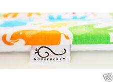 Change Mat Pad Soft Machine Washable Padded Cotton top Waterproof back Elephants