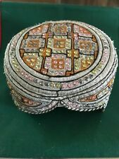 Ethnic tribal jewelled Sindhi cap